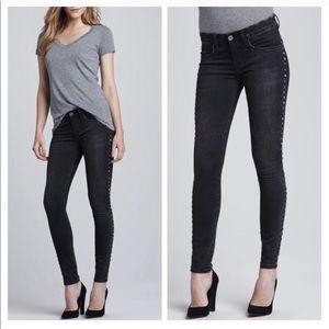 Blank NYC Black Studded Skinny Jeans